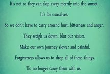 Forgiveness. Peace for the soul! / by Mindy Whitehurst