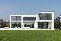 Haus mit Glas