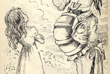 Alice in W:Merwyn Peake / Alice in wonderland  (illustrator)