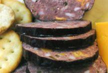 Jalapeño cheese summer sausage