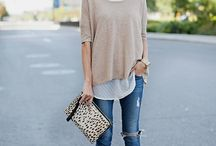 Summer layers and nice jeans