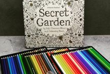 Secret Garden / Coloring book