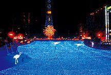 クリスマスイルミネーション / 全国各地の人気クリスマスイルミネーション