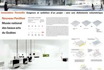 architecture presentation board