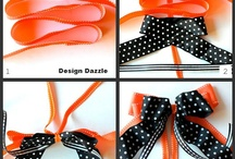 Crafts - Bows, Pom Poms and Garland / Inspiration and tutorials on how to make bows, pom poms, garland and how to tie a bow around a package. / by Heather Gallagher