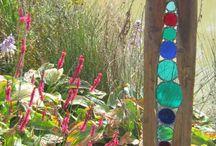 Gartenkunst / Holz und glas
