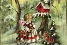 illustrazioni / illustrazioni varie, paper doll, illustrazioni vintage
