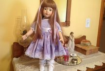 Dolls, vintage and new / by Nancy Forehand Hart