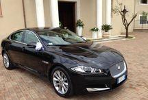 Jaguar XF / La splendida Jaguar, l'auto perfetta per tutte le spose alla ricerca di una vettura di nozze contemporanea con un sacco di spazio per l'abito nella parte posteriore!