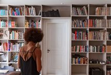 Danish design bookshelf