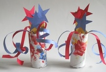 Fourth of July Crafts and Activities / Crafts and DIY ideas for fourth of july, independence day, patriotic themes / by Jackie Higgins
