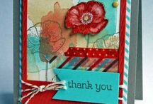Stampin up happy watercolour / Board of ideas using the stampset happy watercolor from Stampin up
