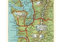 WA - Washington Cities - Bellingham to Seattle to Tacoma to Longview to Vancouver