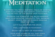meditasjon , qigong, mindfullness