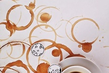 coffee painted