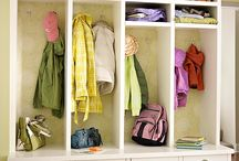 MUDROOMS Organized
