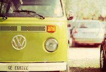 VW Campervans / I'm not sure when my love of Campervans began but love them I do, my favourite has to be the Split Screen but I love all manner of VW Campervans and their vintage look and style.