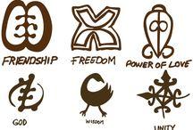 Símbolos: África