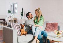 HOMESTORY COUPLE SHOOT / Homestories, Couple Shooting, Couple Shoot, Cozy Home,