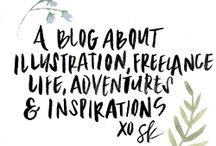 Beautiful Blogs / Inspiring and useful blogs to follow / by Sahin Designs