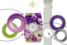 Horloges / Hier zie je voorbeelden van de duizenden mogelijkheden met het horloge.