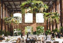wedding decor serving