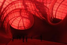 Colour: RED - Anish Kapoor  / Red & Anish Kapoor / by Maira Spilack