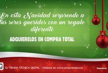 NAVIDAD 2016 / En Compra Total queremos festejar con nuestro público esta navidad y un prospero año nuevo. Enviando mensajes que colaboren a fomentar los buenos deseos en estas fechas tan especiales.