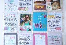 Project Life, Journaling, Scrapbook