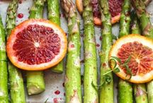 Veg Out / Eat your veggies!  Vegetable-centric recipes for main dishes and sides.