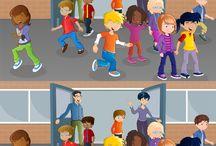 Knutselplaten Ambrasoft / Diverse knutselplaten van Ambrasoft voor kinderen, voor gebruik als extra lesmateriaal op school of voor thuis.