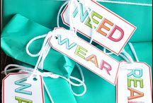 Want Need Wear Read