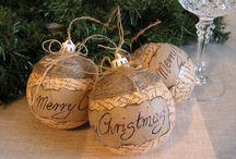 A Rustic Christmas / Natural, organic, antique and rustic Christmas DIY ideas