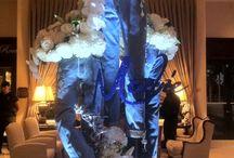 Denim and Diamonds Theme Bat Mitzvah Party Ideas