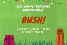 Tiki Updates! / Celebrate Fairfax 2017!  Updates and fun activities for everyone to look forward to!