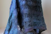 шарфы из войлока