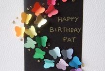 cards - birthday / by Beth Thorne