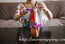 How to use a Furoshiki cloth / We can start eco-friendly life with ecology wrapping!