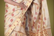 """Muga Silk / The """"Golden Silk"""" from Assam is one of the most exquisite silk fabric on the globe. The Muga Silk, an highly exclusive fabric used in products like Sarees, Mekhlas Chadar etc. This silk has a special characteristic of bright lusture. The fabric is superior in every aspect in comparision to the normal white silk that is available in any part on this planet."""