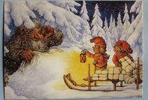 Norwegian gnoms and Santas