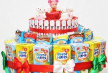 dorty a kytky pro děti