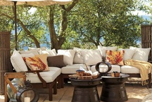 Outdoor Oasis / Outdoor lighting/seating/decorating / by Jennifer Brahatcek-Bruning