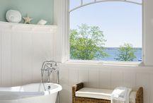 Ocean inspired Bathrooms & Stuff