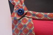 """OUUF...les cravates / Retrouvez plein d'idées à essayer, adapter, découvrir, détourner avec les fournitures reçues dans l'envoi du mois d'octobre 2016 sur le thème de """"détournement de cravates"""" avec les matériaux : cravates /ties , fils de soie /silk threads Au Ver à Soie, apprêts pour bijou avec Creactivités (http://www.onceuponunefois.com)"""