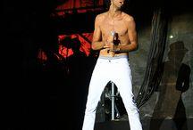 shirtless Mika