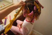 little girl hair tutorials / by emilie ahern