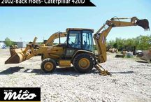 BACK HOES / Low-Hours Caterpillar Backhoe for Sale or Rent at a Great Price. Search for Great Deals on Back End Loader and Used Backhoe for Sale at Mico Equipment.
