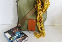 Messenger Bags / Waxed Canvas Messenger Bags