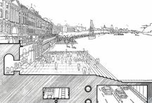 Architectural Drawings / by Fernando Pinto