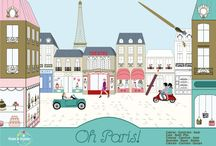 Notre jouet : Oh Paris ! (our toy) / Colorier, Construire, Jouer, Color, Build, Play